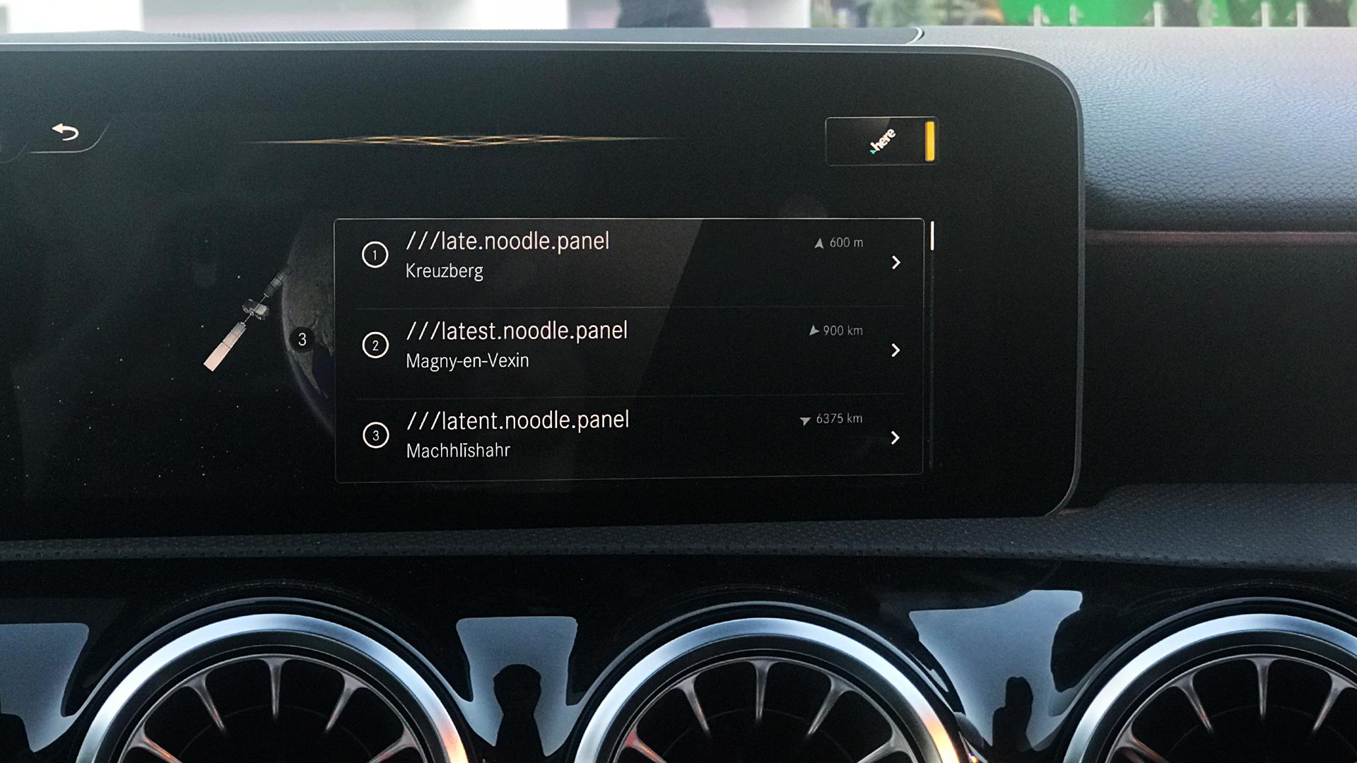 cars navigation system