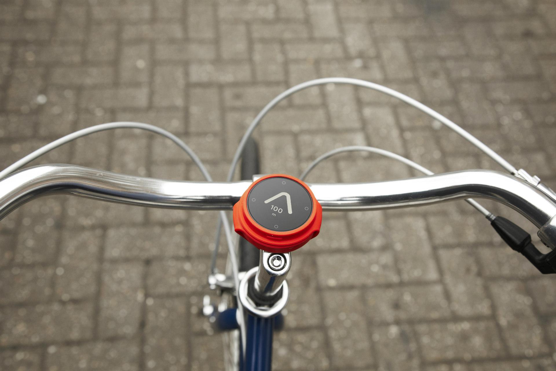 smart bike on pavement