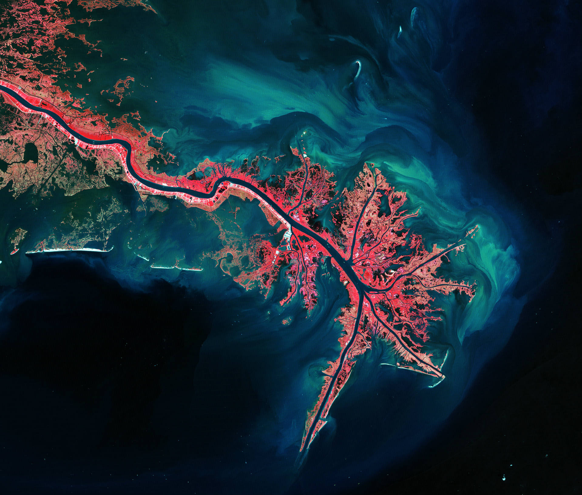 Global Earth Observation System of water streams