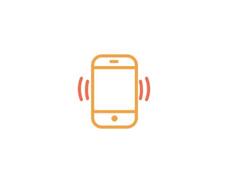 phone interview icon logo