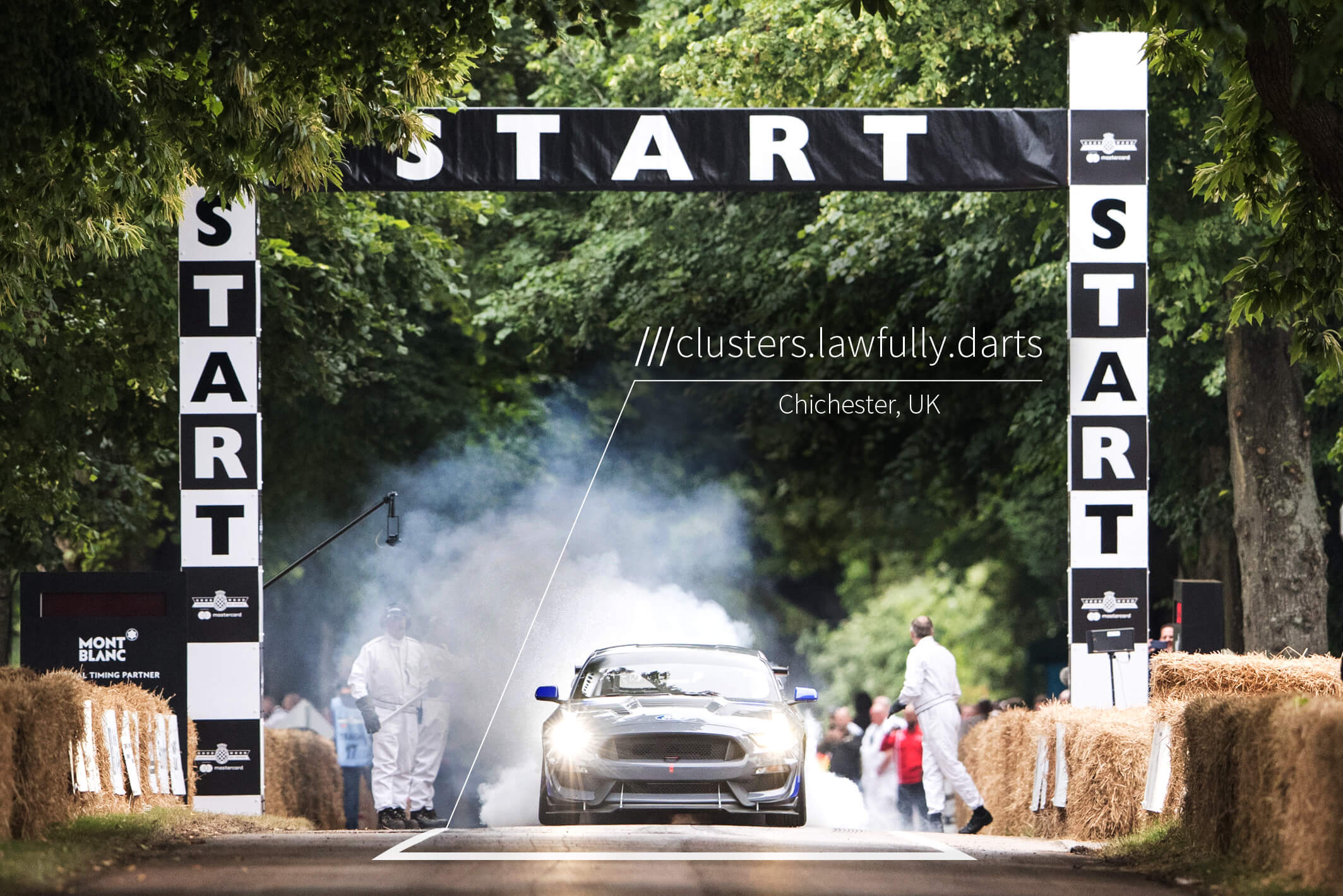Navigate Goodwood Festival of Speed with what3words | what3words