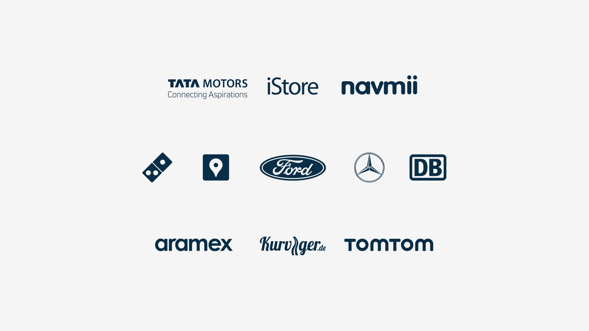 Range of logos