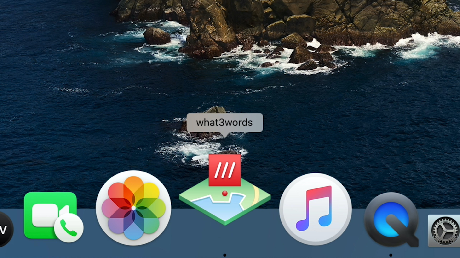what 3 words Mac logo