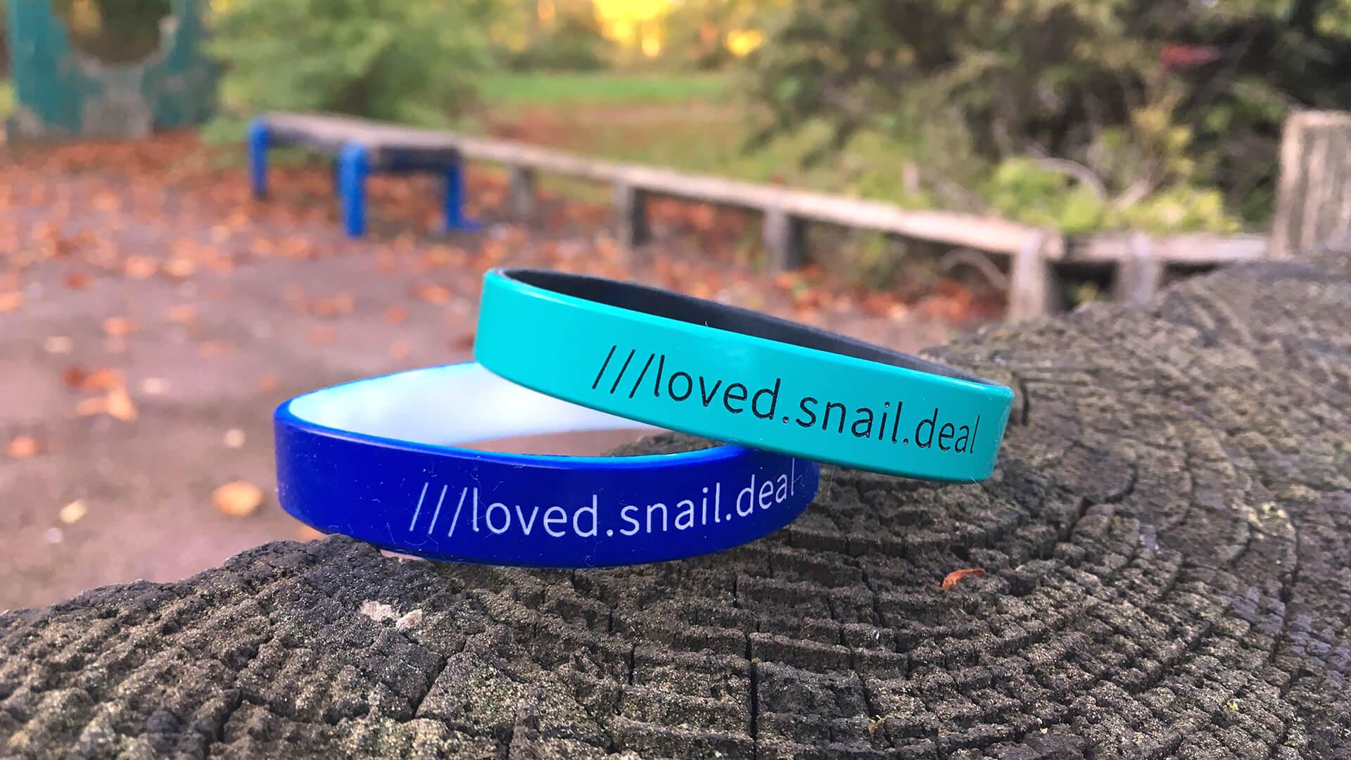 Butler and Grace bracelet 3 words address
