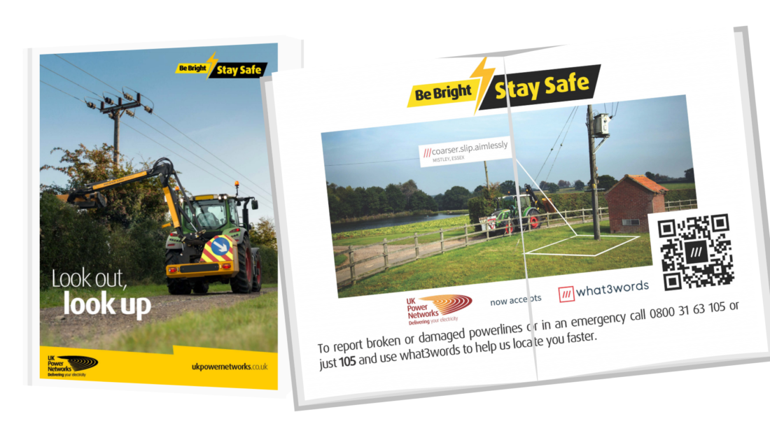UK Power Network safety flyers