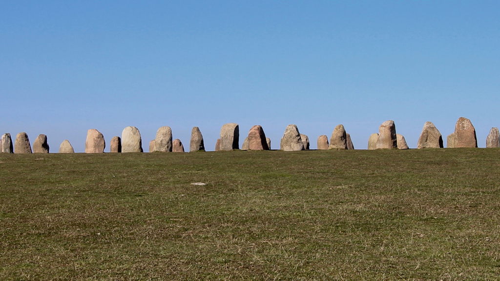 An archaeological and historic site of stones