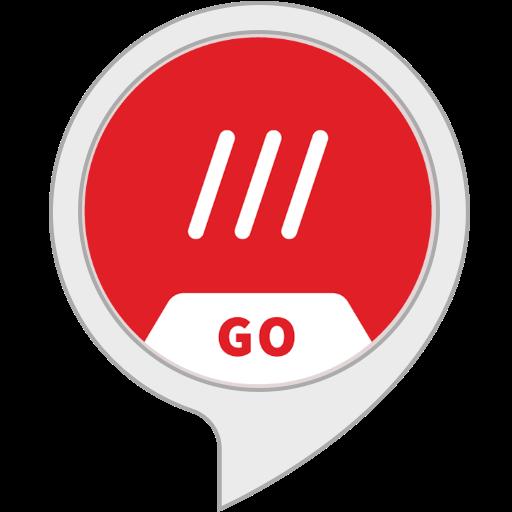 3 word go alexa skill logo