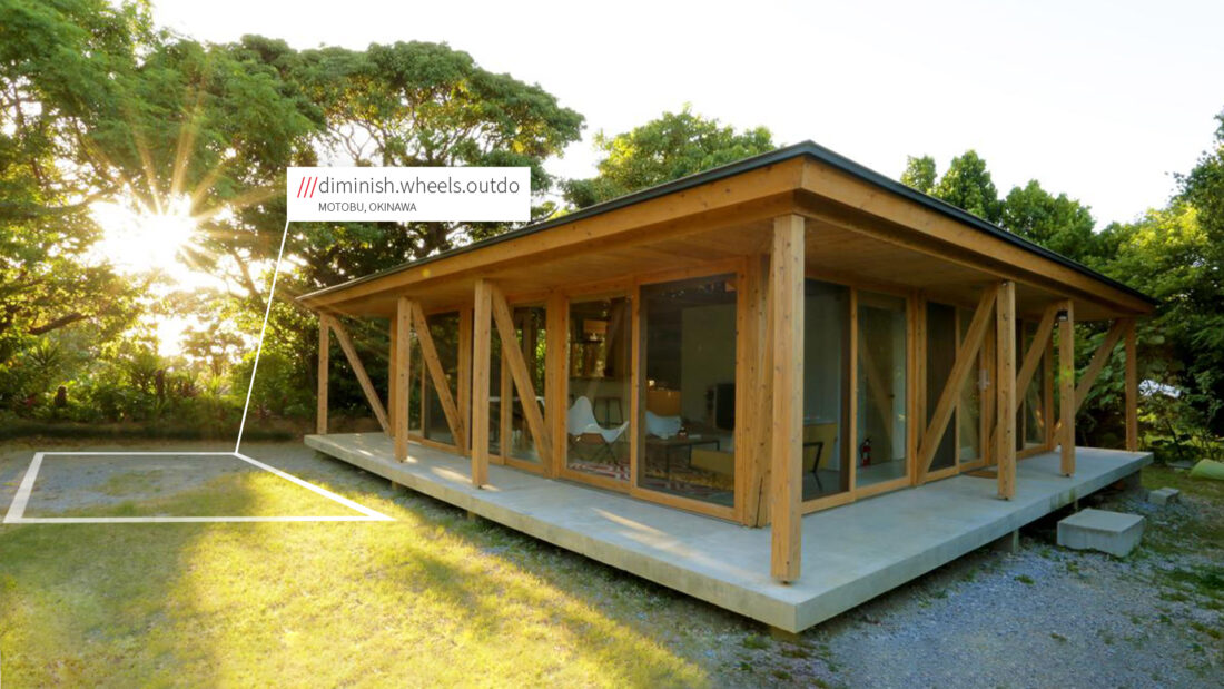Outdoor house at 3 word location diminish.wheels.outdo