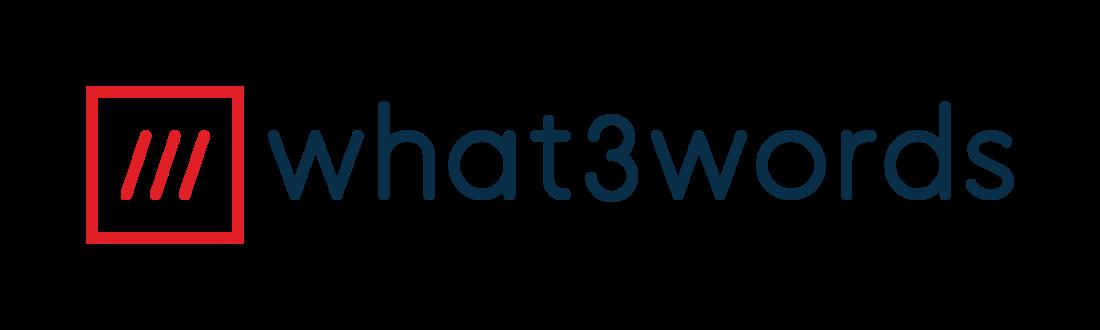 full colour what3words logo