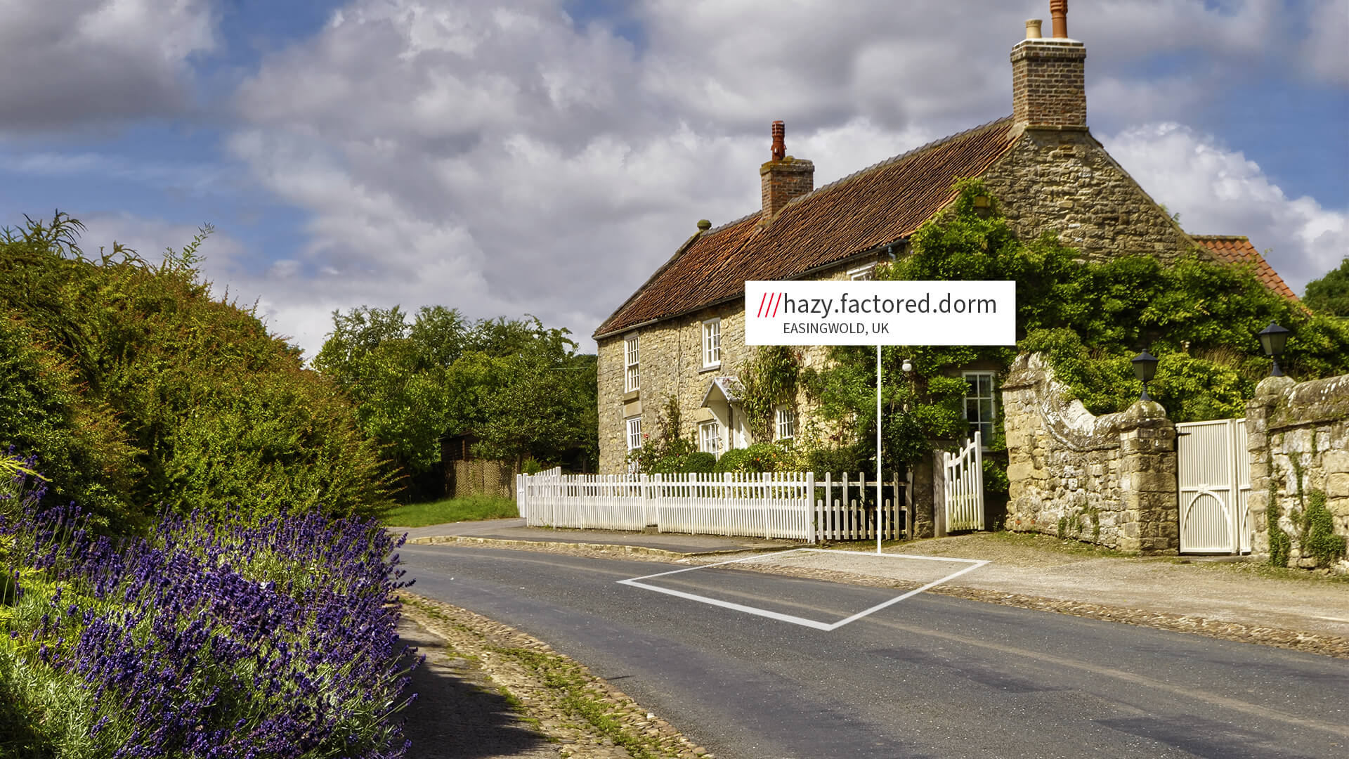 Easingwold country cottage with what3words address