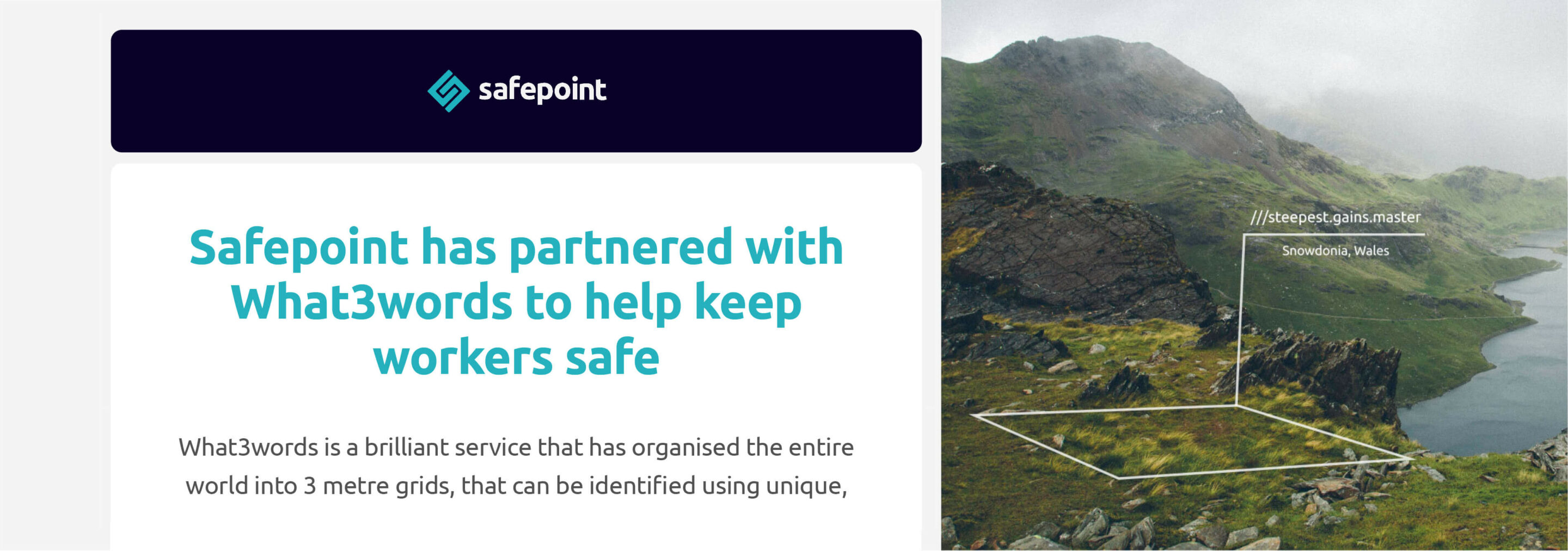 Safepoint Best Practice example for carousel