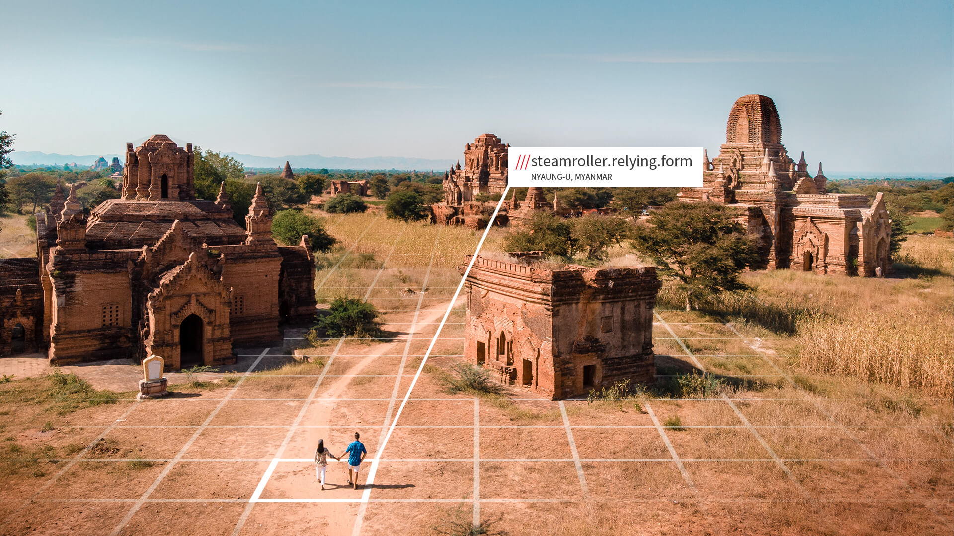 Travel to Myanmar with what3words address