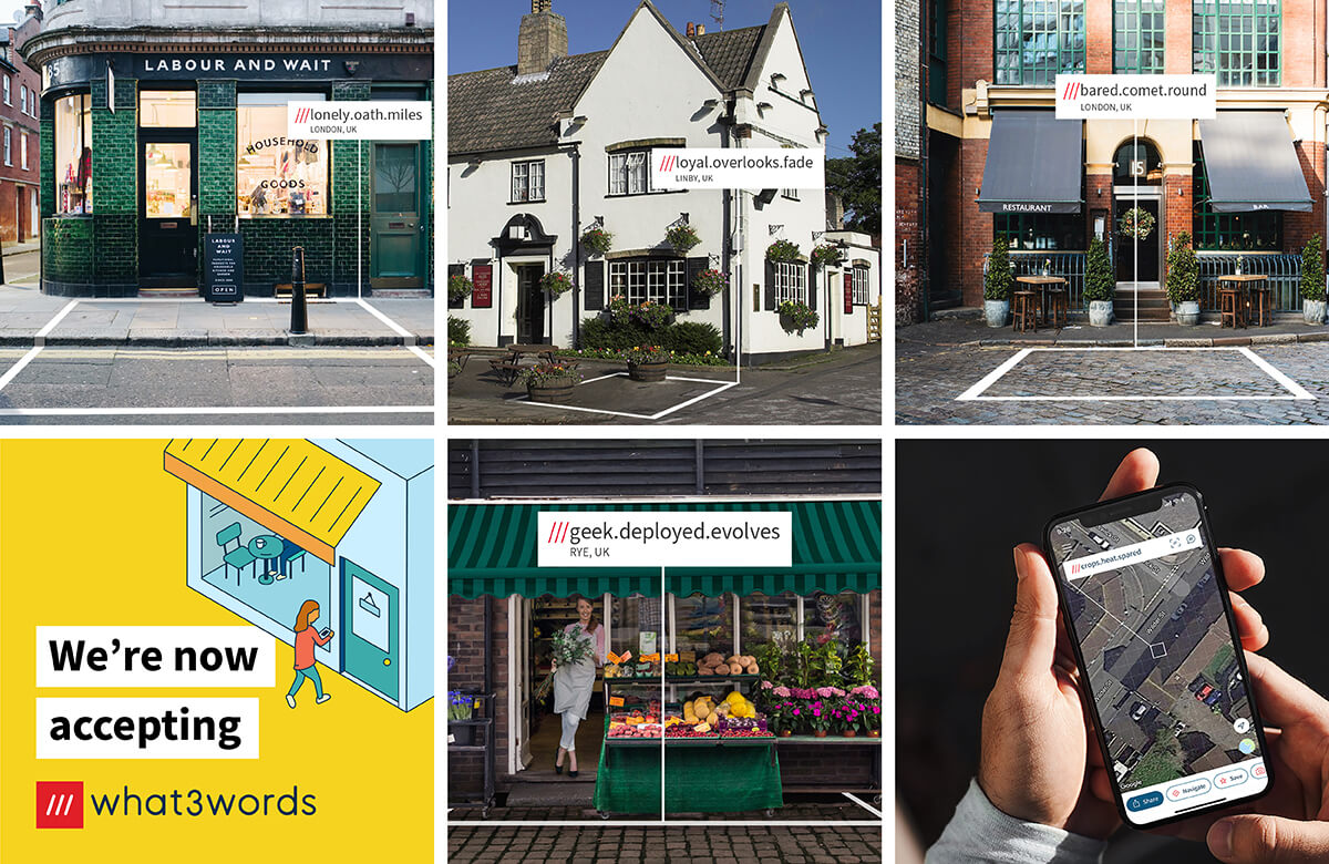 image grid for local businesses