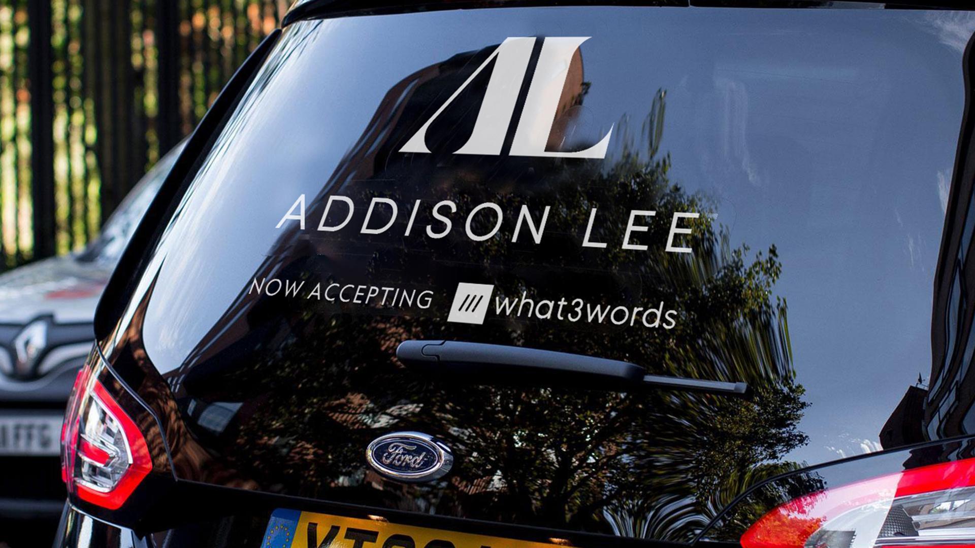 Addison Lee taxi